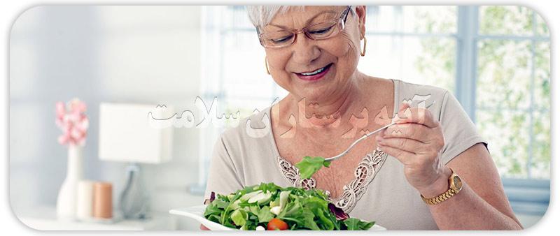 نکات کلیدی تغذیه سالمندان