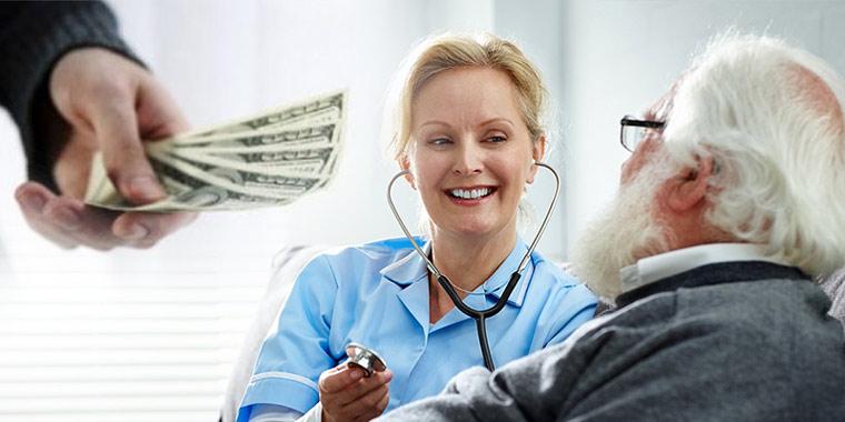هزینه پرستار بیمار در منزل و همراه