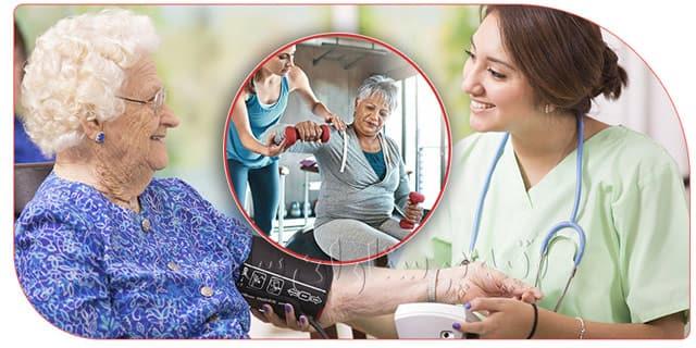 تفاوت مراقب و پرستار برای سالمند