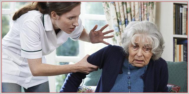 پرستار سالمند و نحوه برخورد آن بیمار