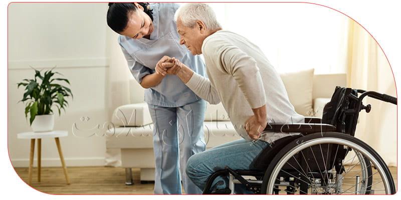 وظایف پرستاری از سالمند در تهران