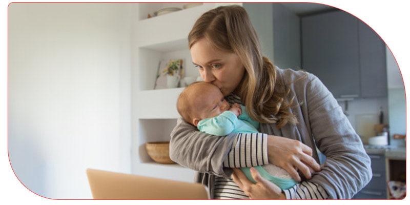 نکات مهم نگهداری از نوزاد یک ماهه
