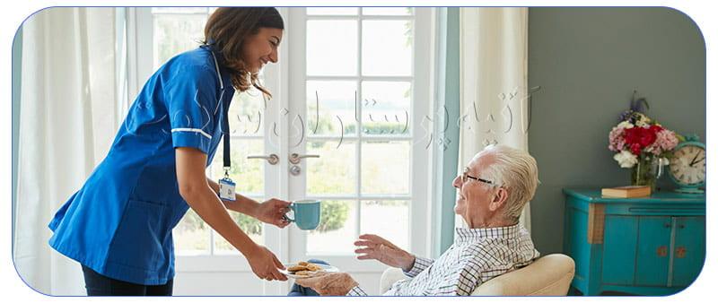 وظایف پرستار برای سالمند