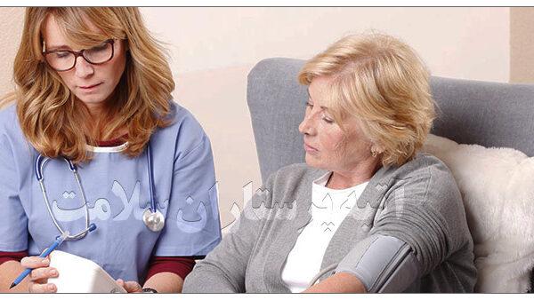 پرستار خانم جهت سالمند آتیه سلامت