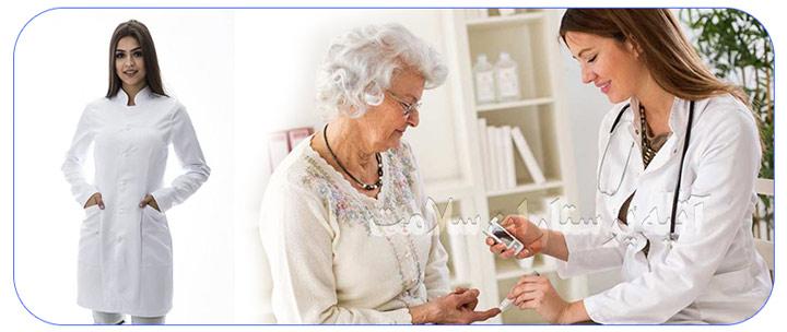 پرستار خانم جهت مراقبت از سالمند