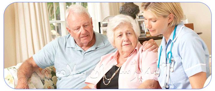 خدمات نگهداری از سالمندان در منزل