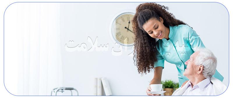 خدمات پرستاری در خانه