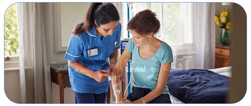 مراقبت از بیماران در منزل