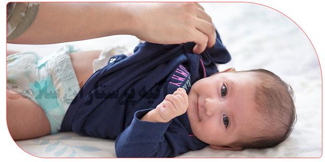 مراقبت از نوزاد در منزل