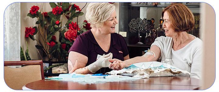 موسسه خدمات پرستاری در منزل برای سالمندان