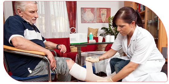 نگهداری از بیمار در منزل