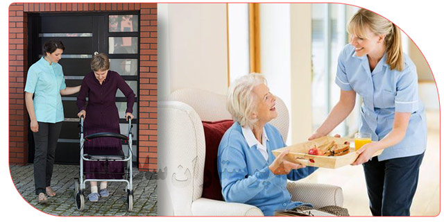 پرستاری و مراقبت از سالمندان در منزل