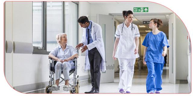 پرستار خصوصی در بیمارستان