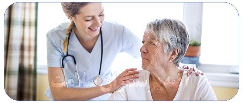 پرستار در تهران برای سالمند