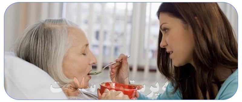 پرستار سالمند خوب در منزل