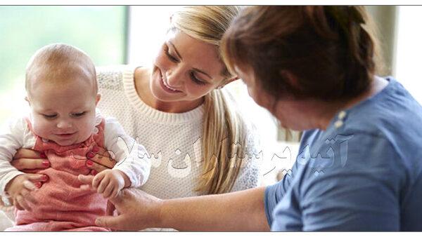 پرستار مادر و نوزاد بعد از زایمان در منزل آتیه