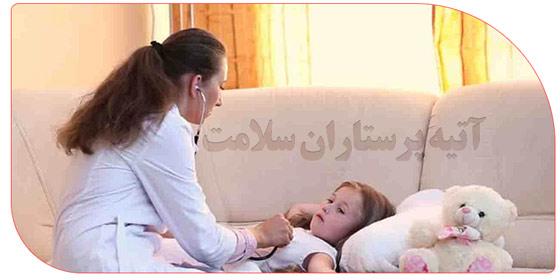 پرستار نوزاد بیمار
