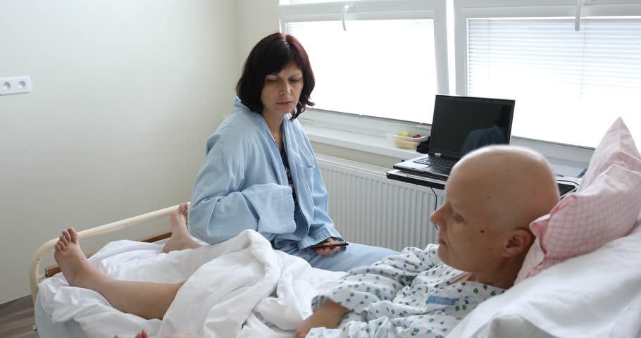 پرستاری از بیماران بستری شده
