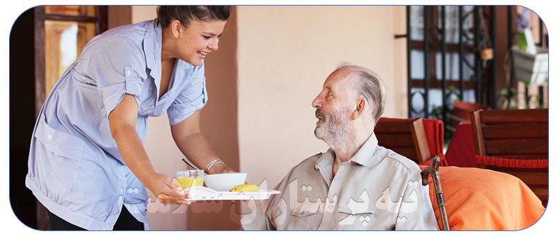 استخدام پرستار آقا سالمند و وظایف آن