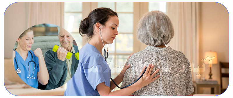 خدمات پرستاری شبانه روزی برای سالمند