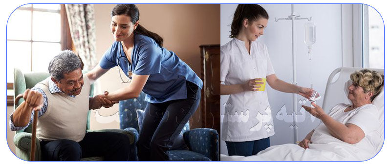 خدمات پرستاری شبانه روزی در منزل