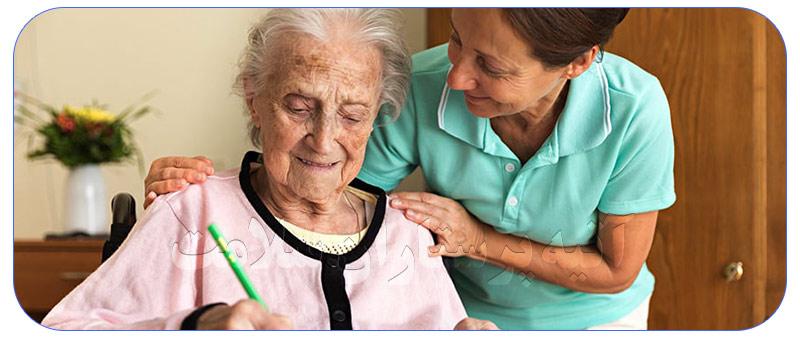 دفتر خدمات پرستاری در منزل سالمند