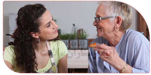 شرایط نگهداری از سالمندان