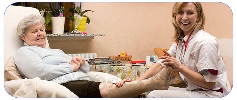 شرکت پرستاری از سالمندان در منزل