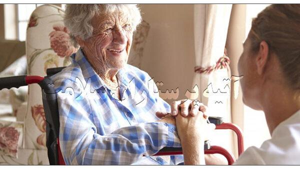 مراقبت از سالمند در منزل تهران آتیه سلامت
