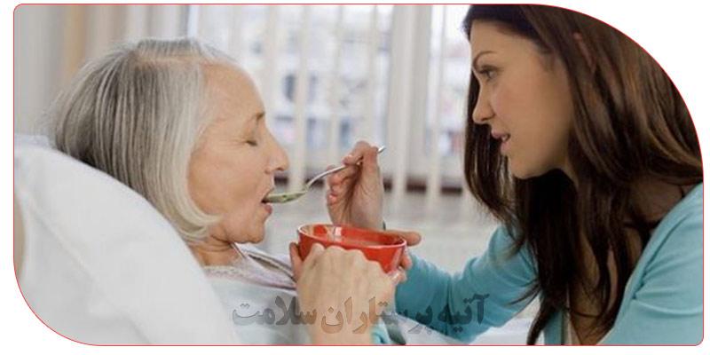 پرستاری از سالمندان در منزل یا خانه