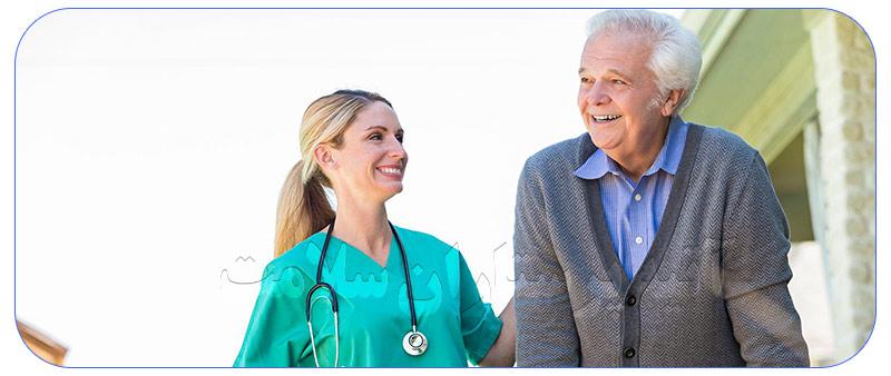 پرستار برای مراقبت از سالمند در منزل