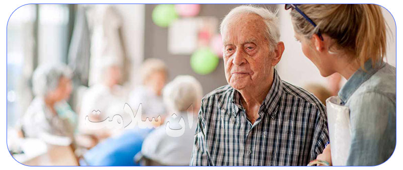 پرستار برای نگهداری سالمند