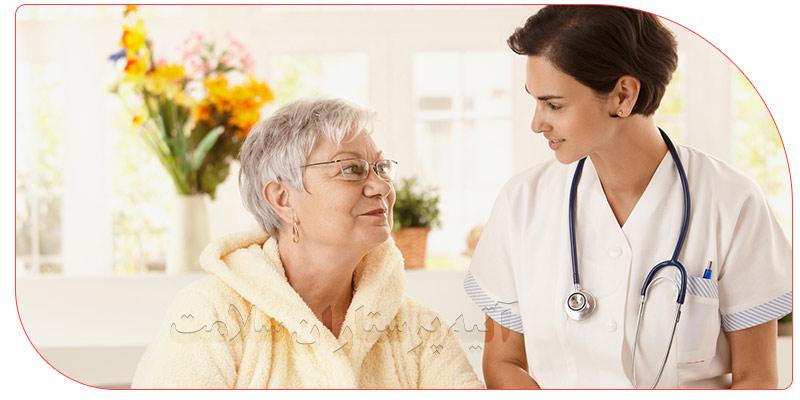 پرستار سالمند در منزل قزوین