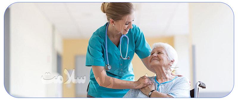 پرستار سالمند قزوین