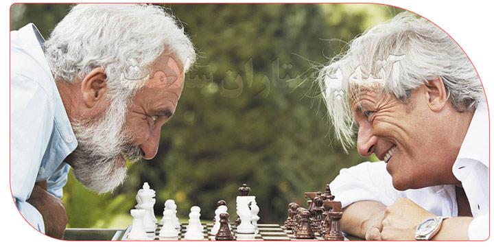 بازی مناسب سالمندان