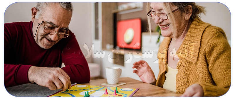بازیهای فکری برای سالمندان