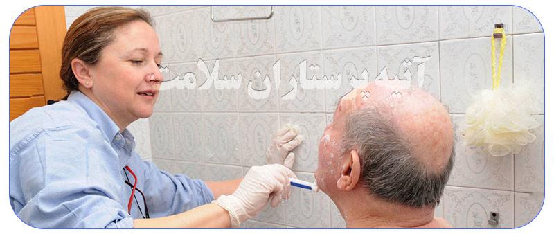 خدمات مراقبت و نگهداری از سالمند در منزل