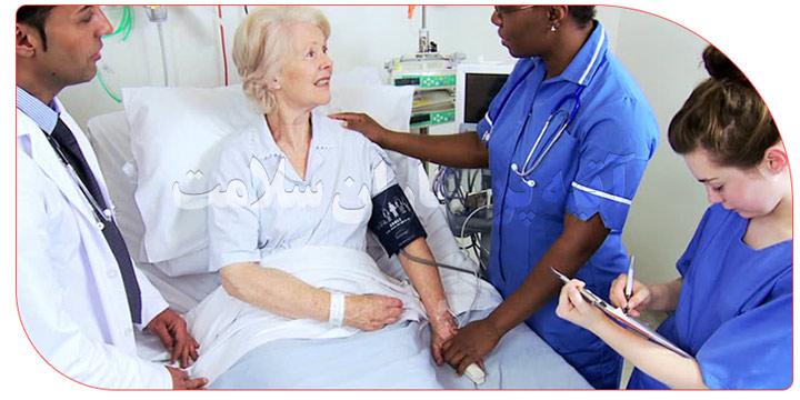 پرستار برای بیمار