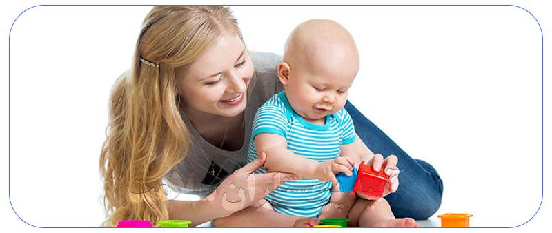 پرستار برای مراقبت از کودک در منزل