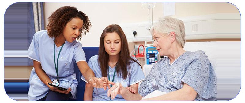 پرستار جهت نگهداری از بیمار در منزل