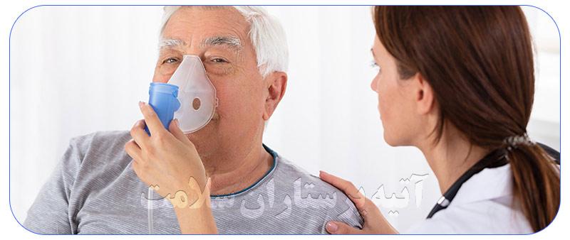 پرستار سالمند بیمار در منزل