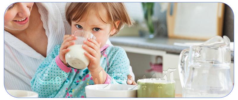 جبران ویتامین دی با خوردن شیر