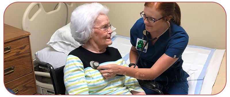 مراقبت و نگهداری از بیمار در منزل