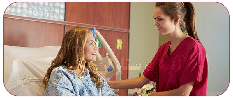 نگهداری و پرستاری از بیمار در منزل