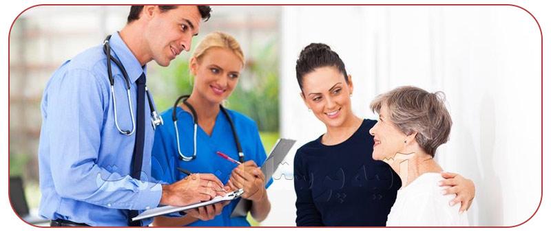 وظایف مرکز خدمات پرستاری در خانه ها