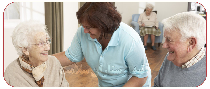 وظایف نگهداری از سالمند تمام وقت در منزل
