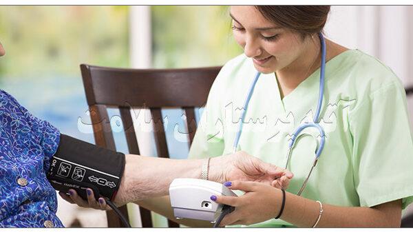 پرستار بیمار در منزل تهران آتیه سلامت