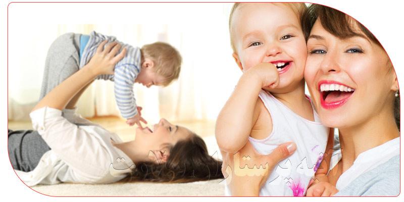 پرستار کودک در منزل برای مراقبت