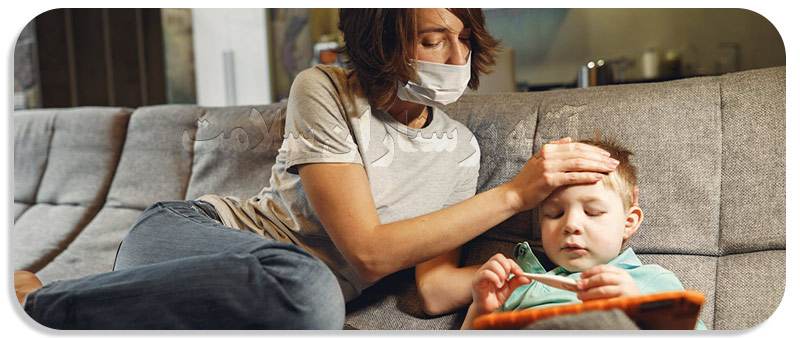 بررسی وضعیت دمای کودک
