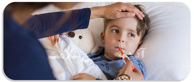 چگونه تب در کودکان را قطع کنیم ؟